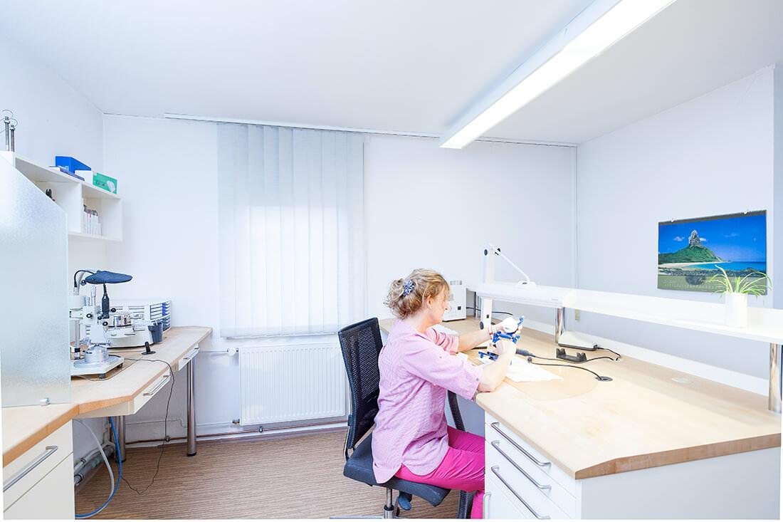Zahnarztpraxis Müller & Lüttke in Kranichfeld, Hauslabor